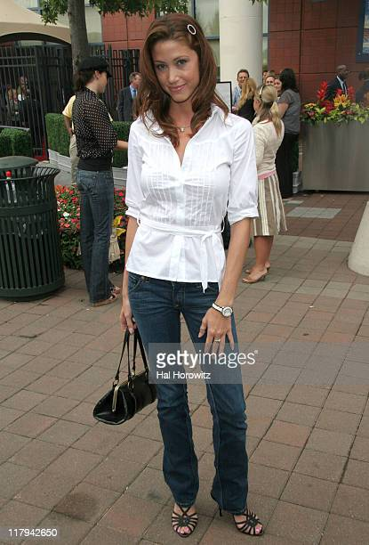 Shannon Elizabeth during Opening Night Gala for U S Open Tennis and Education Foundation at Tennis Center at Flushing Meadows in New York City New...