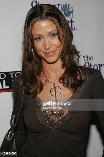 Shannon Elizabeth during Poker for Katrina Relief December 1 2005 at The Day After in Los Angeles California United States