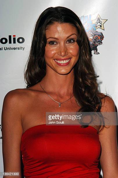 Shannon Elizabeth during Portfolio 2004 and Animal Avengers Host Graduation Fashion Show and Dinner Arrivals at The Beverly Hilton Hotel in Beverly...