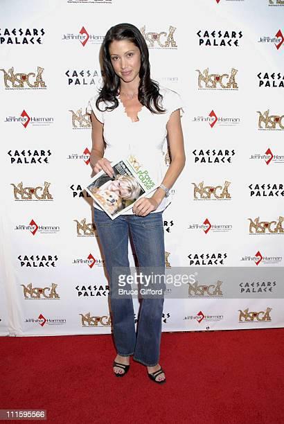 Shannon Elizabeth during StarStudded Jennifer Harman Charity Poker Tournament at Caesars Palace in Las Vegas Nevada United States