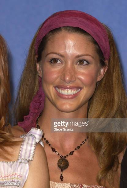 Shannon Elizabeth during The 2002 Teen Choice Awards Press Room at Universal Amphitheater in Universal City California United States