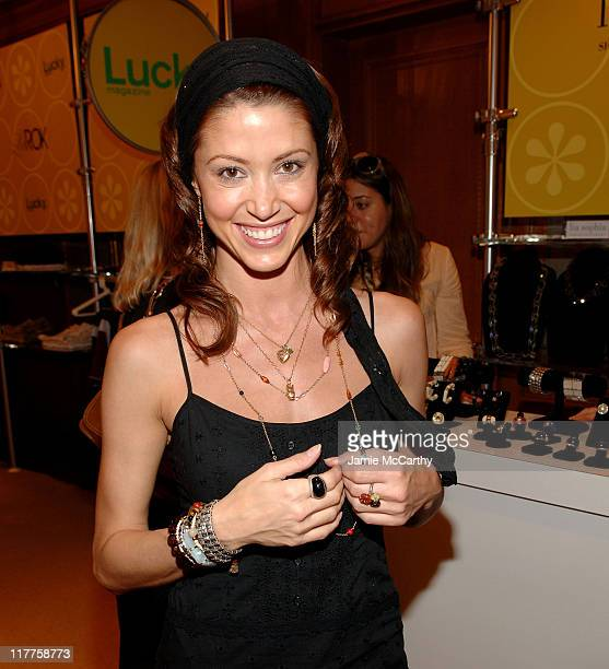 Shannon Elizabeth during The Lucky Magazine Club 2006 Day 1 at The Ritz Carlton Central Park South in New York City New York United States