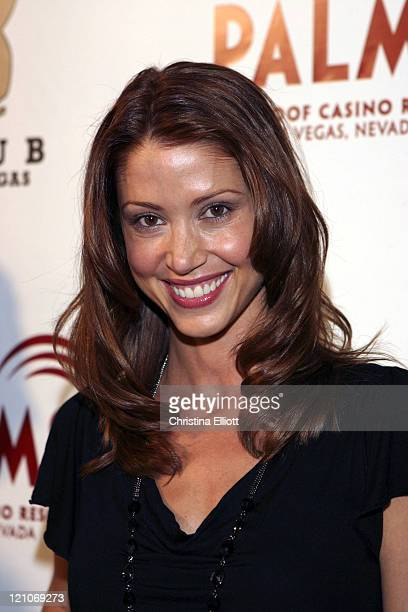 Shannon Elizabeth during The Playboy Club Vip Grand Opening at The Palms Hotel and Casino Arrivals at Palms in Las Vegas Nevada United States