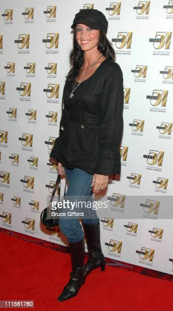 Shannon Elizabeth during UFC Chuck Liddell's Official After Party at Studio 54 December 30 2006 at MGM Grand in Las Vegas Nevada United States