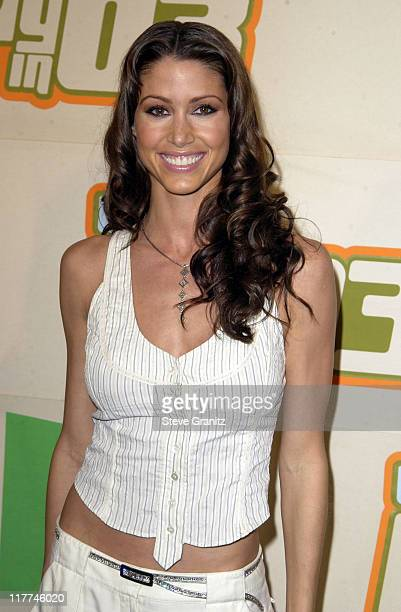 Shannon Elizabeth during VH1 Big In '03 Arrivals at Universal Amphitheater in Universal City California United States