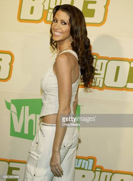 Shannon Elizabeth during VH1 Big in 2003 Arrivals at Universal Amphitheater in Universal City California United States