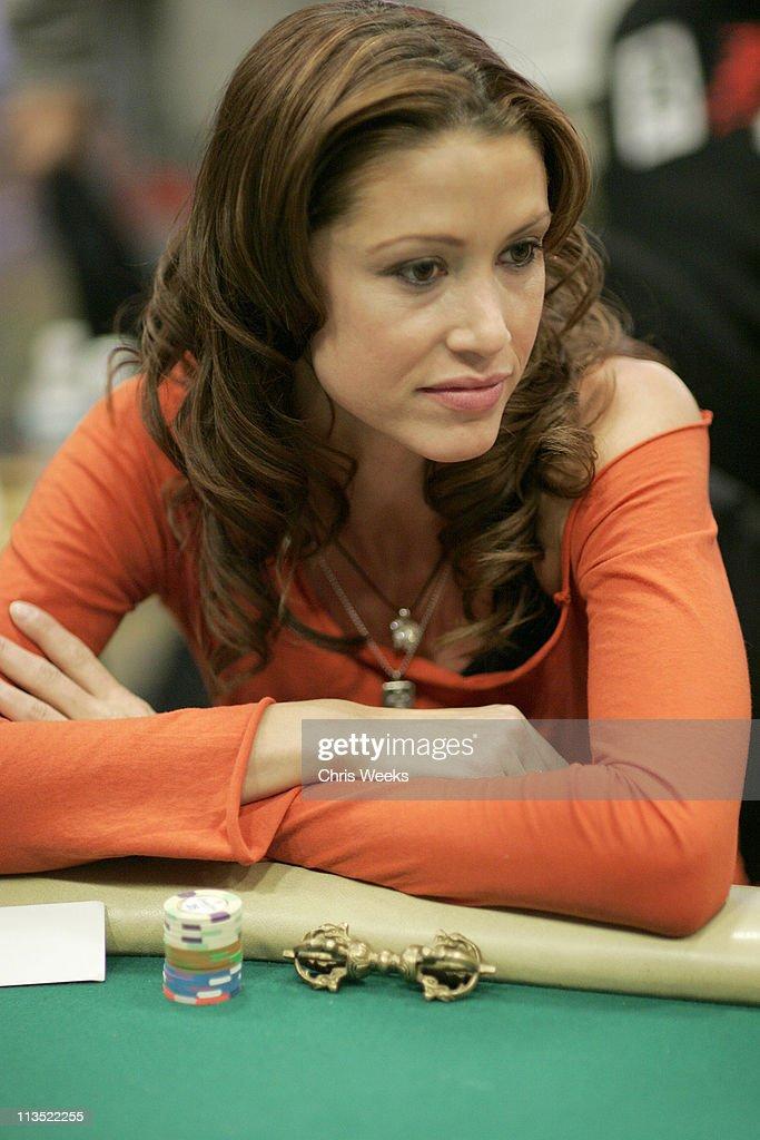 Shannon Elizabeth during World Poker Tour Invitational at Commerce Casino in Commerce, California, United States.