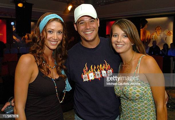 Shannon Elizabeth Rob Mariano and Amber Brkich during bodognet Salute to the Troops Charity Event Benefitting Military Charity Fisher House...