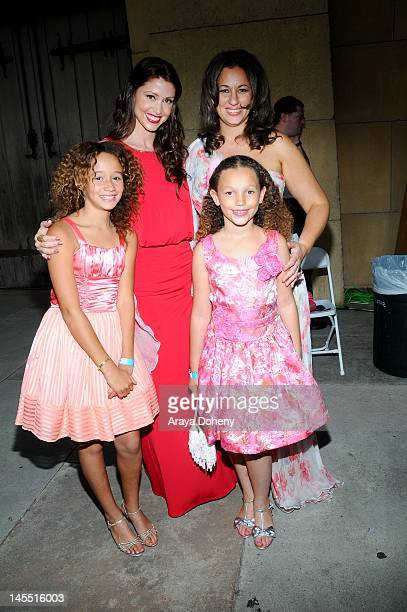 Shannon Elizabeth Talia Jackson and Kelly VlahakisHanks attend the world premiere of A GREEN STORY at the opening night of the Los Angeles Greek Film...
