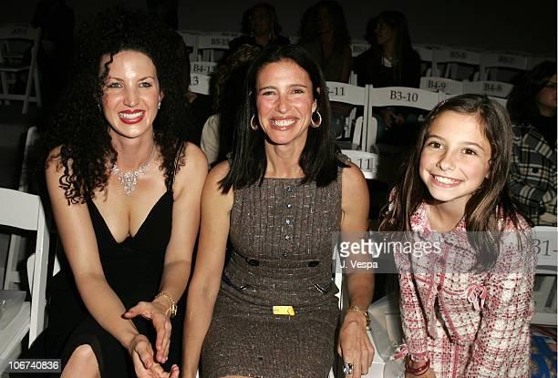 Shannon Factor Mimi Rogers and Lucy Julia RogersCiaffa