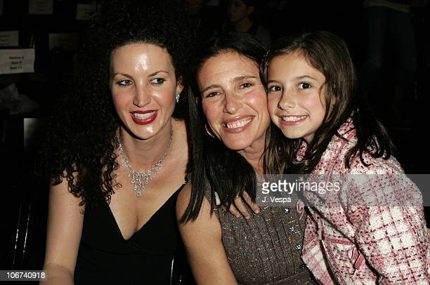 Shannon Factor Mimi Rogers and Lucy RogersCiaffa