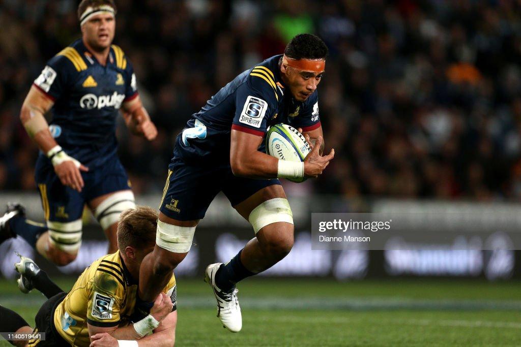 Super Rugby Rd 8 - Highlanders v Hurricanes : Fotografia de notícias