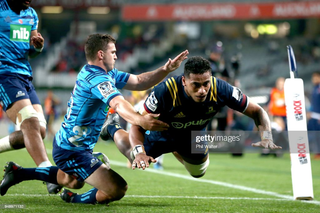 Super Rugby Rd 10 - Blues v Highlanders