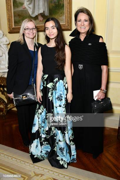 Jenny Paulson and John Paulson attend John Paulson Dinner For The Lang Lang International Music Foundation at a Private Residence on September 24...