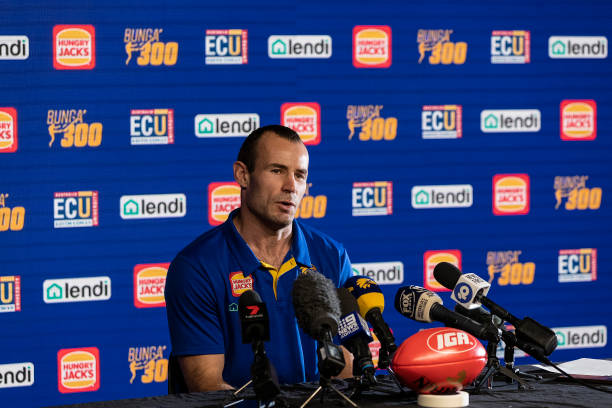 AUS: Shannon Hurn Press Conference & West Coast Eagles Training Session