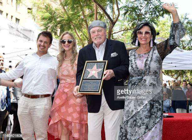 Shannon Keach Karolina Keach Stacy Keach and Malgosia Tomassi Keach attend the ceremony honoring Stacy Keach with a Star on the Hollywood Walk of...