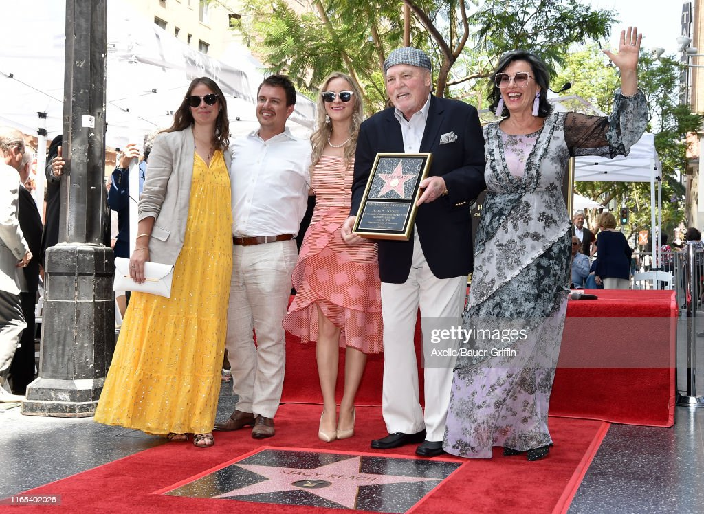 Stacy Keach Honored With A Star On The Hollywood Walk Of Fame : News Photo