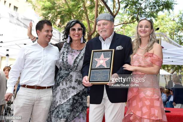 Shannon Keach Malgosia Tomassi Keach Stacy Keach and Karolina Keach attend the ceremony honoring Stacy Keach with a Star on the Hollywood Walk of...