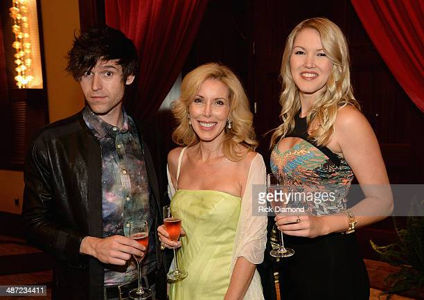 Shannon Kim and Ashley Campbell family of Glen Campbell attend the 15th Annual Nashville Best Cellars Dinner hosted by the TJ Martell Foundation at...