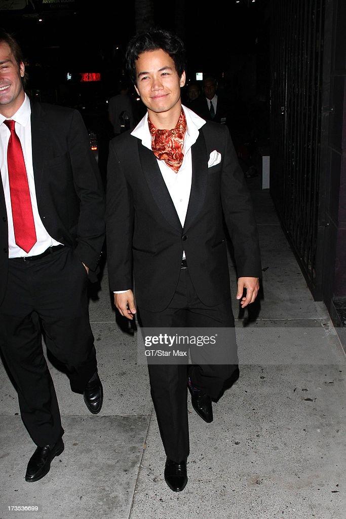 Shannon Kook as seen on July 15, 2013 in Los Angeles, California.