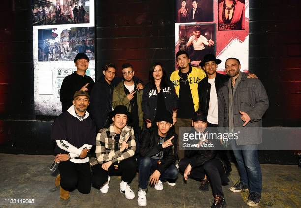Shannon Lee a daughter of late martial arts film star Bruce Lee and guests attend Cinemax Warrior event on March 28 2019 in New York City