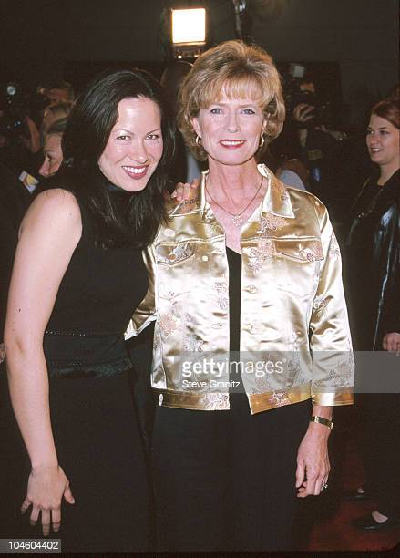 Shannon Lee & Mom Linda Cadwell during Romeo Must Die Premiere at Mann Village Theatre in Westwood, California, United States.