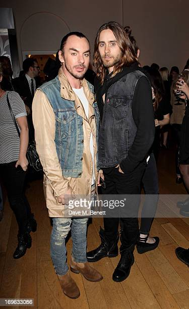 Shannon Leto and Jared Leto attend the Esquire Summer Party in association with Stella Artois at Somerset House on May 29 2013 in London England