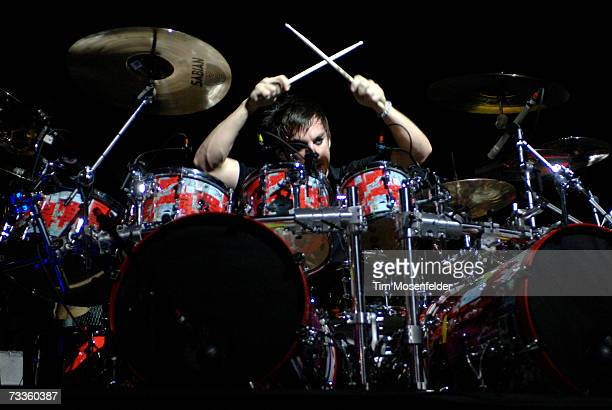 Shannon Leto of 30 Seconds to Mars perform as part of the Taste of Chaos Tour 2007 at the Bill Graham Civic Auditorium on February 17 2007 in San...