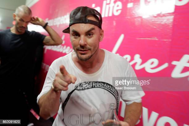 Shannon Leto of Thirty Seconds to Mars attends the 2017 iHeartRadio Music Festival at TMobile Arena on September 22 2017 in Las Vegas Nevada