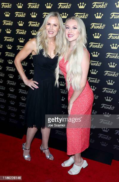 Shannon Mariotti and Maddie Mariotti attend the Funko Hollywood VIP Preview Event at Funko Hollywood on November 07 2019 in Hollywood California