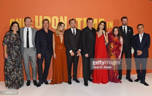 Shannon McIntosh, Damian Lewis, Brad Pitt, Margot Robbie, Leonardo DiCaprio, Quentin Tarantino, Daniela Pick Tarantino, Lena Dunham, Costa Ronin and...