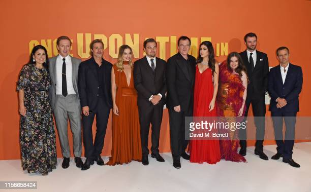 Shannon McIntosh Damian Lewis Brad Pitt Margot Robbie Leonardo DiCaprio Quentin Tarantino Daniela Pick Tarantino Lena Dunham Costa Ronin and David...