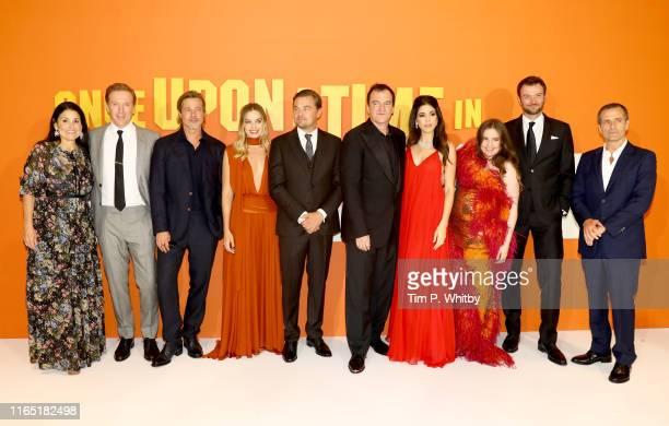 Shannon McIntosh Damian Lewis Brad Pitt Margot Robbie Leonardo DiCaprio Quentin Tarantino Daniela Tarantino Lena Dunham Costa Ronin and David Heyman...