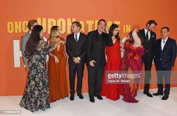 Shannon McIntosh Damian Lewis Margot Robbie Leonardo DiCaprio Quentin Tarantino Daniela Pick Tarantino Lena Dunham Costa Ronin and David Heyman...