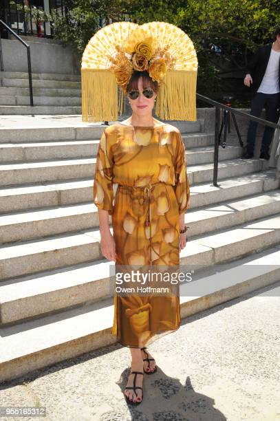 Shannon McLean attends 36th Annual Frederick Law Olmsted Awards Luncheon Central Park Conservancy at The Conservatory Garden in Central Park on May 2...