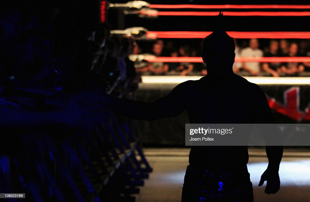 TNA Wrestling - European Tour : News Photo