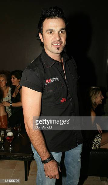 Shannon Noll during Sapphire Suite Anniversary Party in Sydney at Sapphire Suite Kings Cross in Sydney Australia