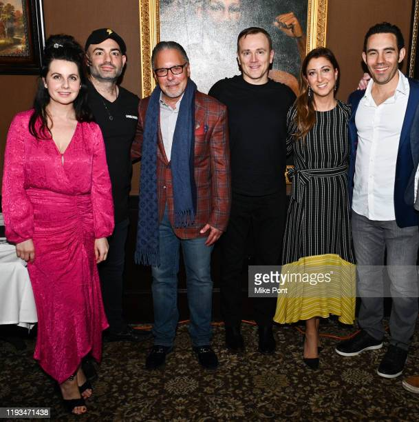 Shannon O'Donnell Adam Gugino Jay Abraham Sean Callagy Mona Zalatan and Jared Yellin attend an UNBLINDED Dinner Hosted By Jay Abraham Sean Callagy...