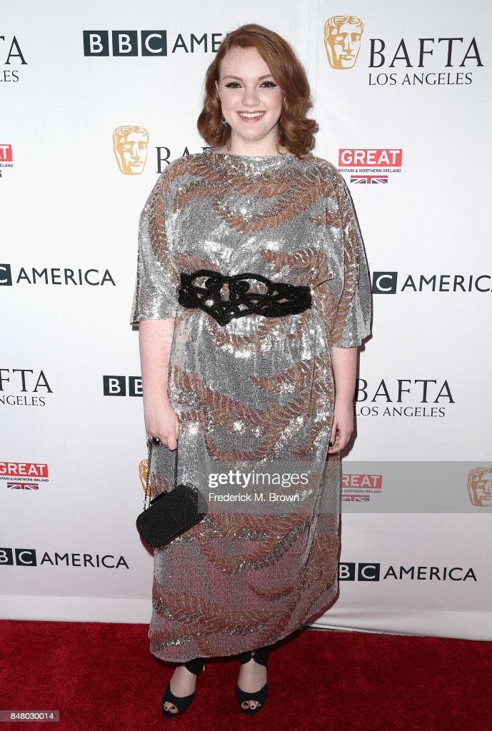 Shannon Purser attends the BBC America BAFTA Los Angeles TV Tea Party 2017 at The Beverly Hilton Hotel on September 16, 2017 in Beverly Hills, California.