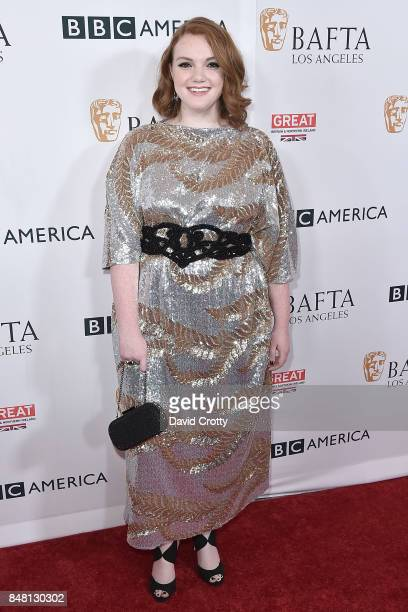 Shannon Purser attends the BBC America BAFTA Los Angeles TV Tea Party 2017 Arrivals at The Beverly Hilton Hotel on September 16 2017 in Beverly Hills...
