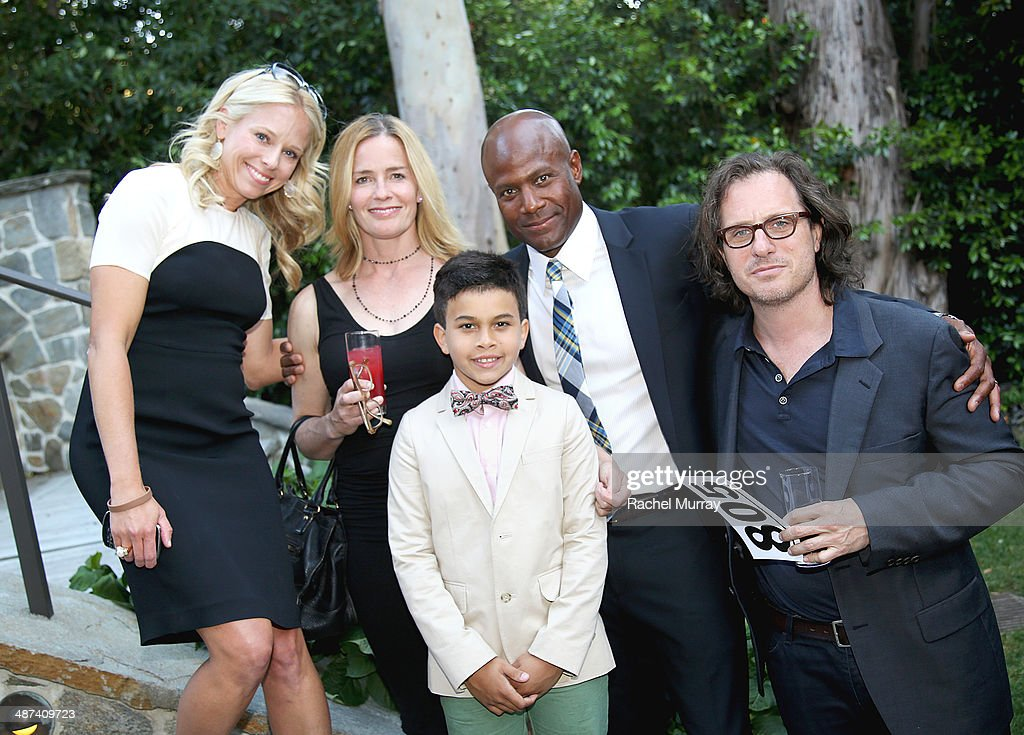 Shannon Rotenberg, actress Elisabeth Shue, Carter Lee, producer Damon Lee, and director Davis Guggenheim attend the Communities In Schools of Los Angeles Gala 2014, Presented By CAA And EIF on April 29, 2014 in Los Angeles, California.