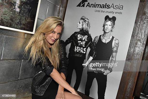 Shannon Rusbuldt attends Animals Asia Let A Bear Shit In The Woods Campaign at the Electric Room at Dream Downtown on May 18 2015 in New York City...