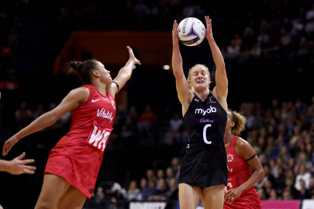 NZL: Cadbury Netball Series Game 2 - New Zealand Silver Ferns v England Roses