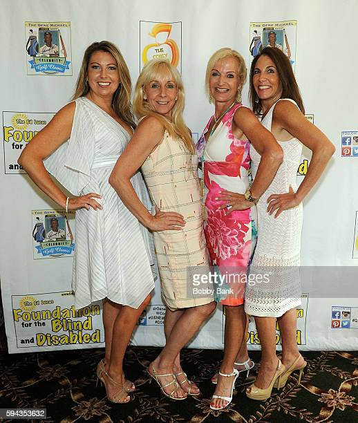 Shannon Steitz and Ann Liguori attend the 2016 Lucas Foundation Golf And Dinner Awards at Brooklake Country Club on August 22 2016 in Florham Park...