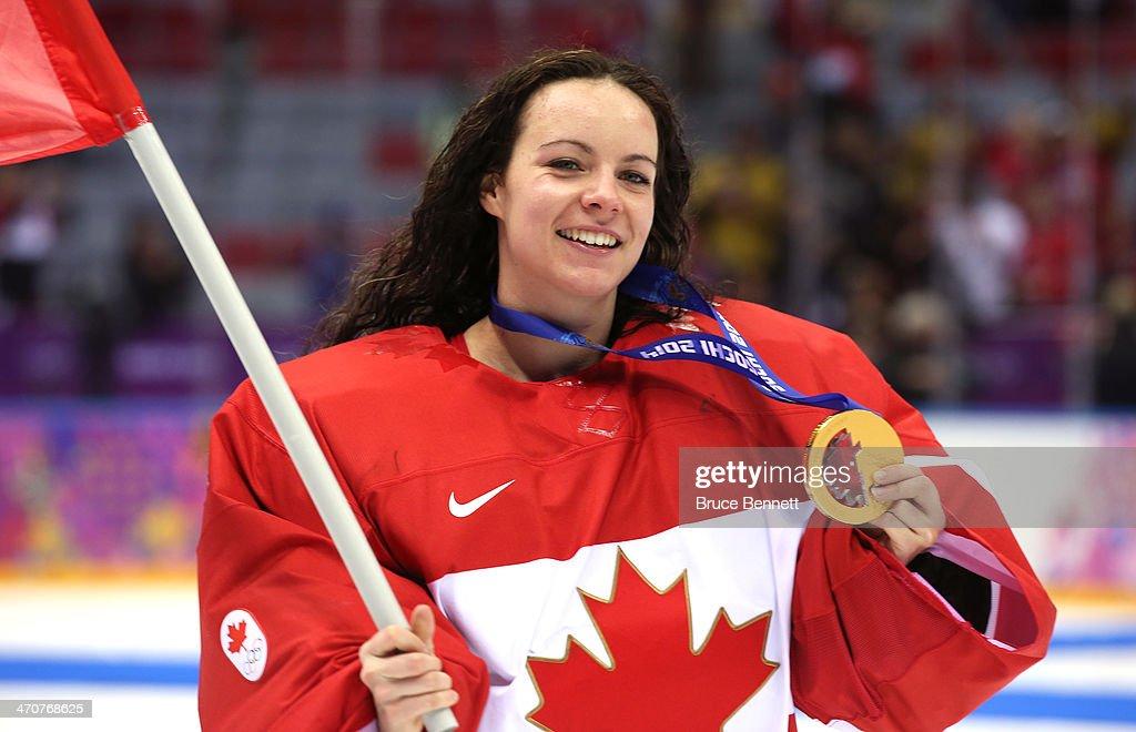 Ice Hockey - Winter Olympics Day 13 - Canada v United States : News Photo