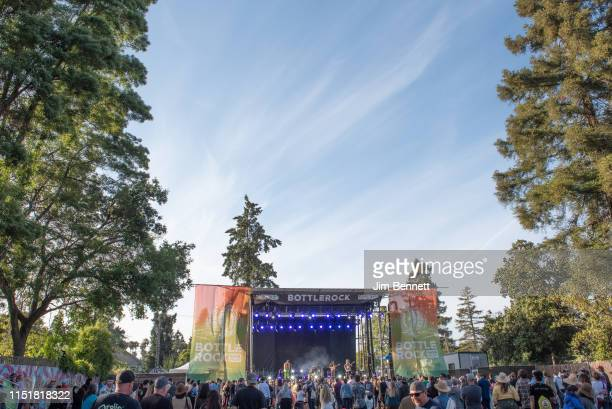Shannon The Clams perform live on stage during BottleRock Napa Valley at Napa Valley Expo on May 25 2019 in Napa California