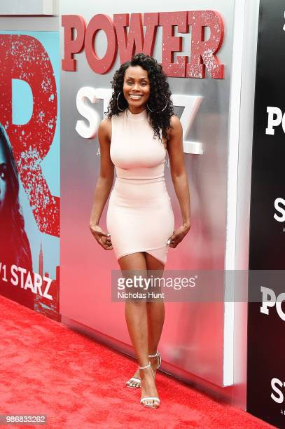 Shannon Thorton attends the POWER Season 5 Premiere at Radio City Music Hall on June 28 2018 in New York City