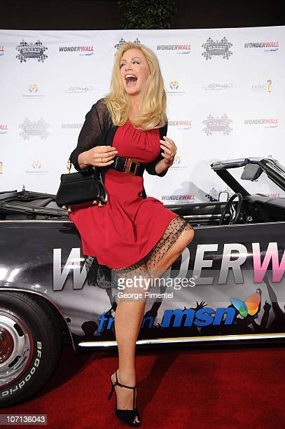 Shannon Tweed attends The Rally For Kids With Cancer Scavenger Cup's Qualifiers Celebrity Draft Party at the Tropicana Poolside at The Hollywood...