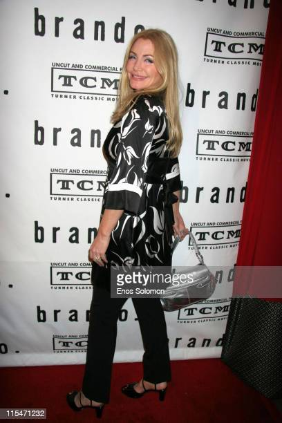 Shannon Tweed during Brando Los Angeles Premiere Screening and Cocktail Party Hosted by Turner Classic Movies and Mike Medavoy at Egyptian Theater in...