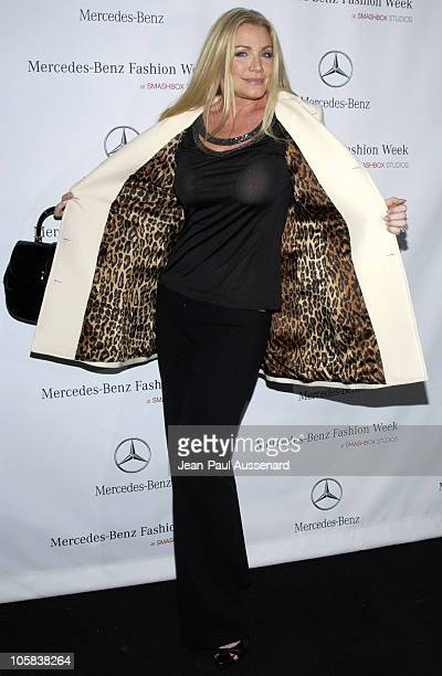 Shannon Tweed during MercedesBenz Fall 2006 LA Fashion Week at Smashbox Studios Day 2 Arrivals at Smashbox Studios in Culver City California United...